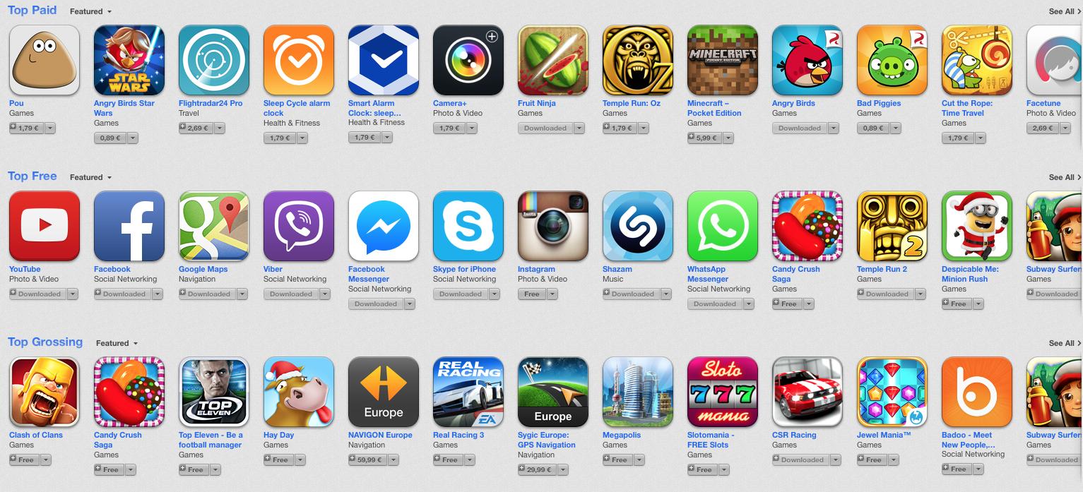 Topul Celor Mai Bune Aplicatii Gratuite Pentru IPhone