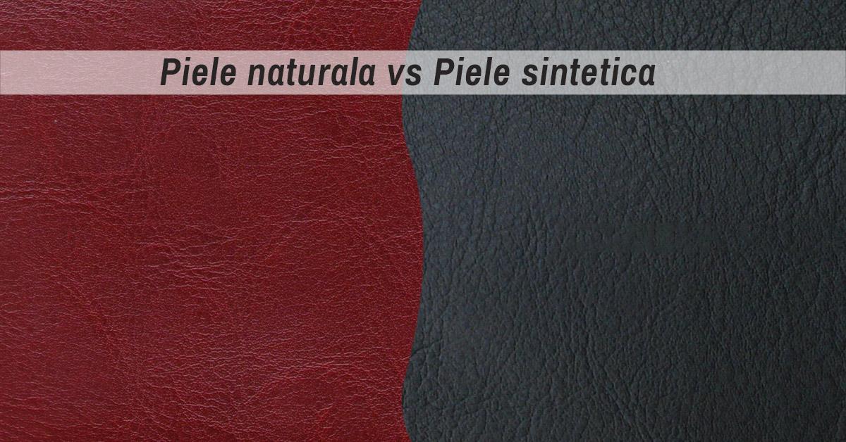 Diferenta dintre piele naturala si artificiala