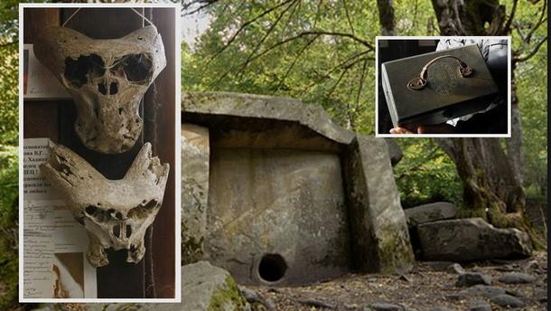 Craniile extraterestre descoperite in Rusia